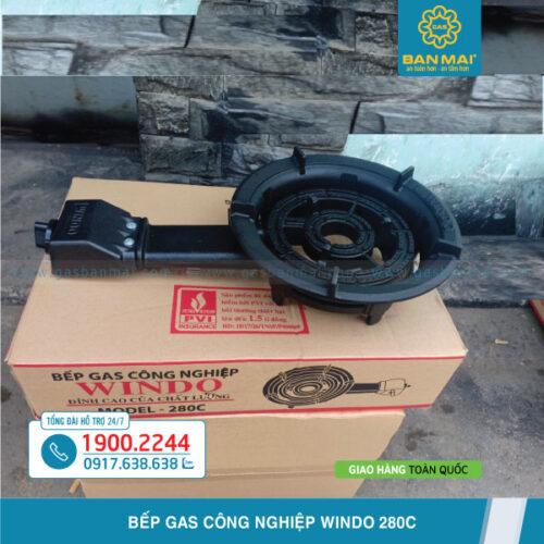 Bếp gas công nghiệp Windo 280C