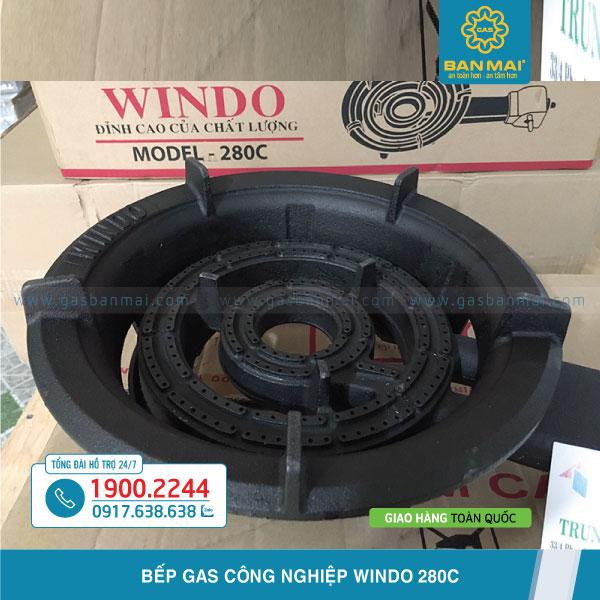 Bếp ga Công nghiệp Windo 280C chính hãng