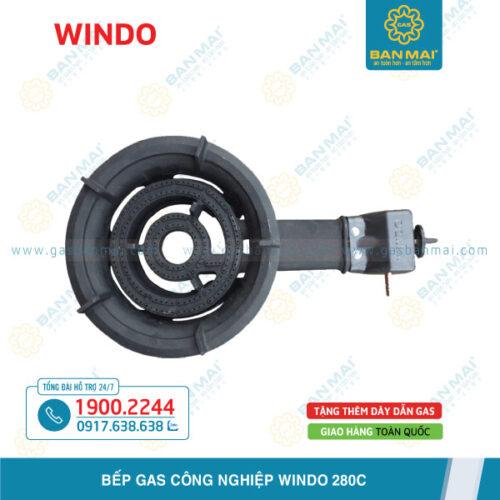 Bếp gas công nghiệp Windo 280C chính hãng
