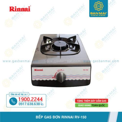 Bếp gas đơn Rinnai RV-150 chính hãng giá rẻ