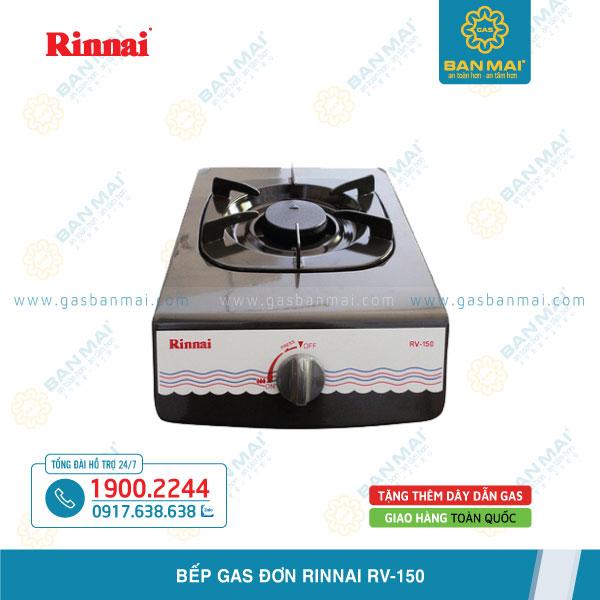 Báo giá bếp gas đơn Rinnai RV-150