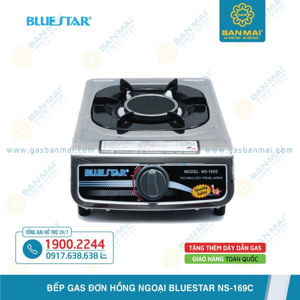 Đánh giá Bếp gas đơn hồng ngoại Bluestar NS-169C