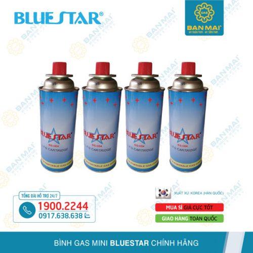 Bình ga mini Bluestar chính hãng