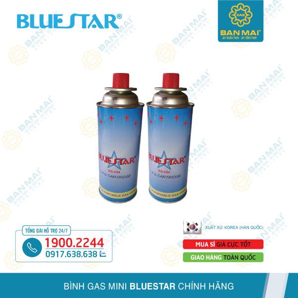 Bình ga du lịch mini Bluestar