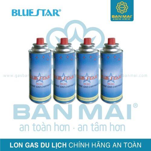 Bình gas mini Bluestar chính hãng an toàn