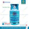 Bình Gas SOPET Xanh Petrolimex 12kg chính hãng