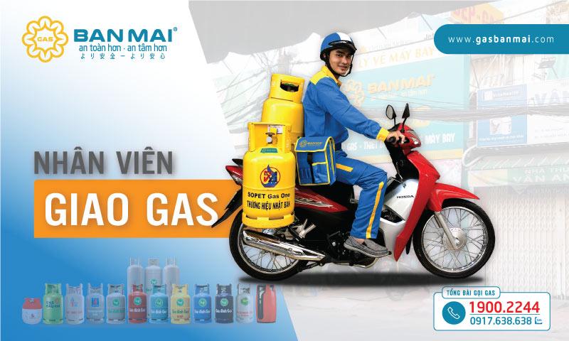 Tuyển nhân viên giao gas