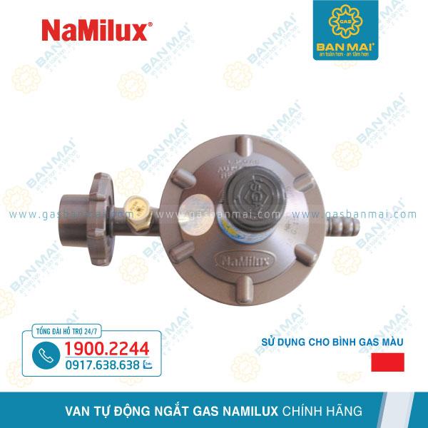 van khoá ga Namilux NA-337S/1 dùng cho bình gas đỏ