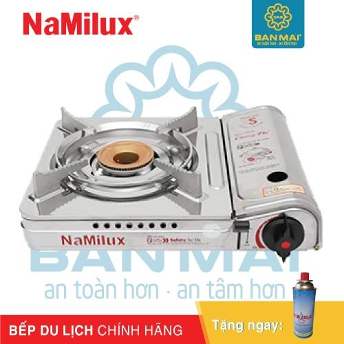 Bếp gas mini NaMilux chính hãng