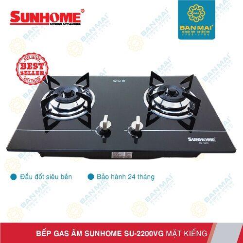 Bếp gas âm SUNHOME SU2200VG