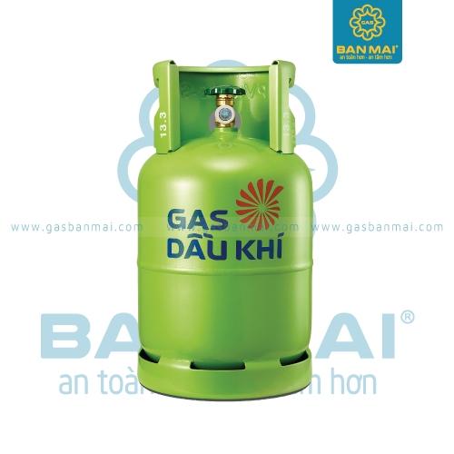 Bình gas Dầu Khí xanh lá cây12kg