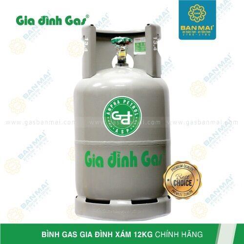 Bình gas Gia đình xám 12kg chính hãng