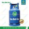 Bình gas Gia đình xanh Shell 12kg chính hãng