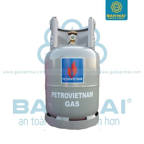 Bình gas PetroVietnam màu xám 12kg chính hãng