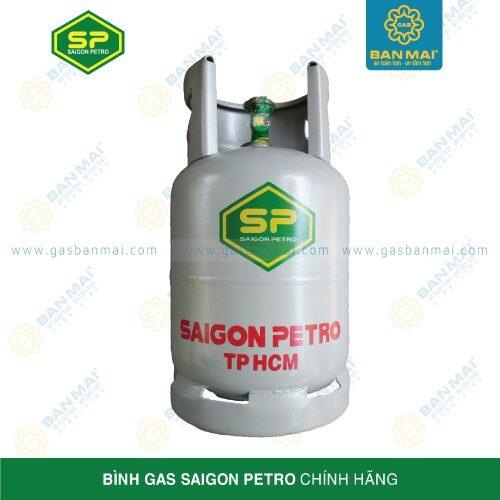 Bình gas Saigon Petro màu xám 12kg
