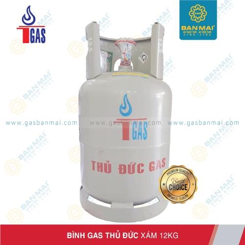 Bình gas Thủ Đức xám 12kg