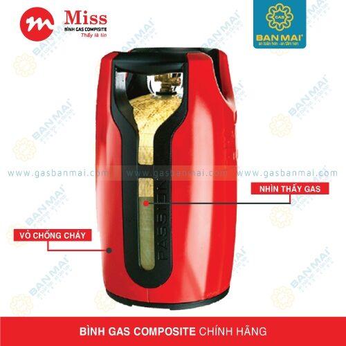 Bình Miss Gas Composite An toàn