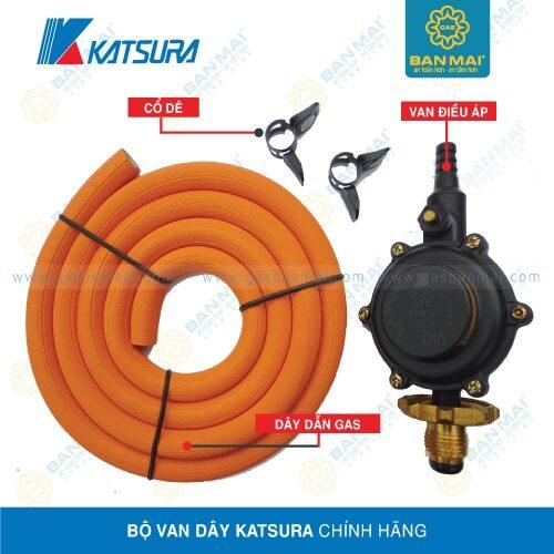 Bộ van dây gas Katsura chính hãng