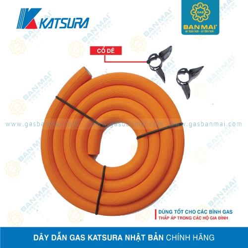 Dây dẫn gas Katsura Nhật Bản chính hãng