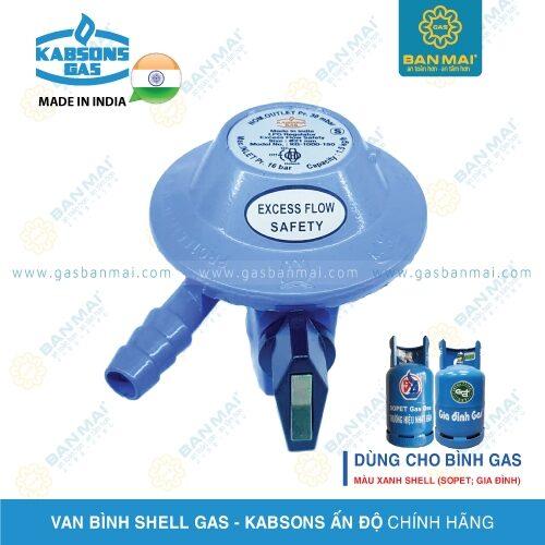 Van điều áp bình Shell gas chính hãng