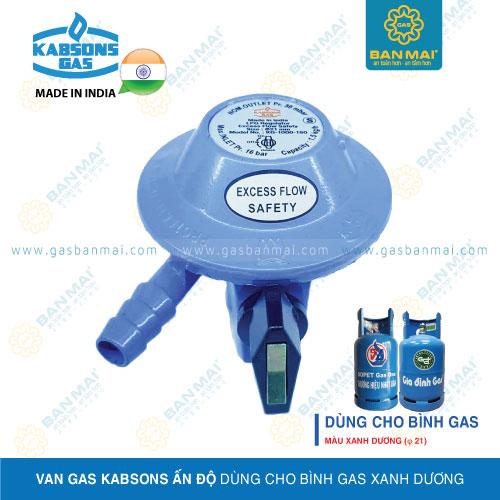 Van gas Kabsons dùng cho bình gas xanh dương