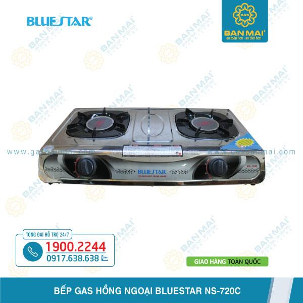 bếp gas đôi hồng ngoại Bluestar NS-720C