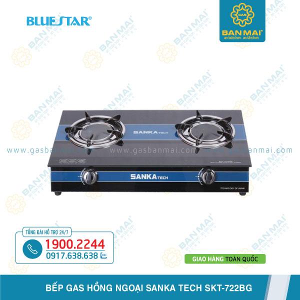 Bếp gas hồng ngoại Sanka Tech SKT-722BG