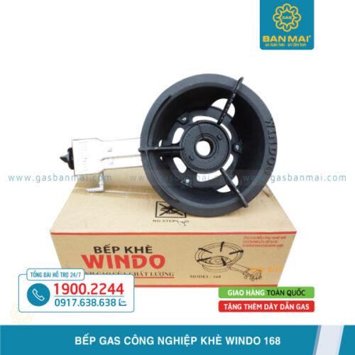 Bếp gas khè Windo 168 chính hãng