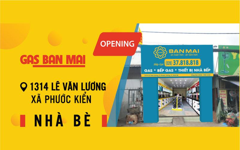 Cửa hàng Gas Ban Mai Lê Văn Lương Nhà Bè
