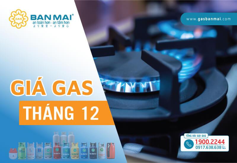 Giá gas Tháng 12