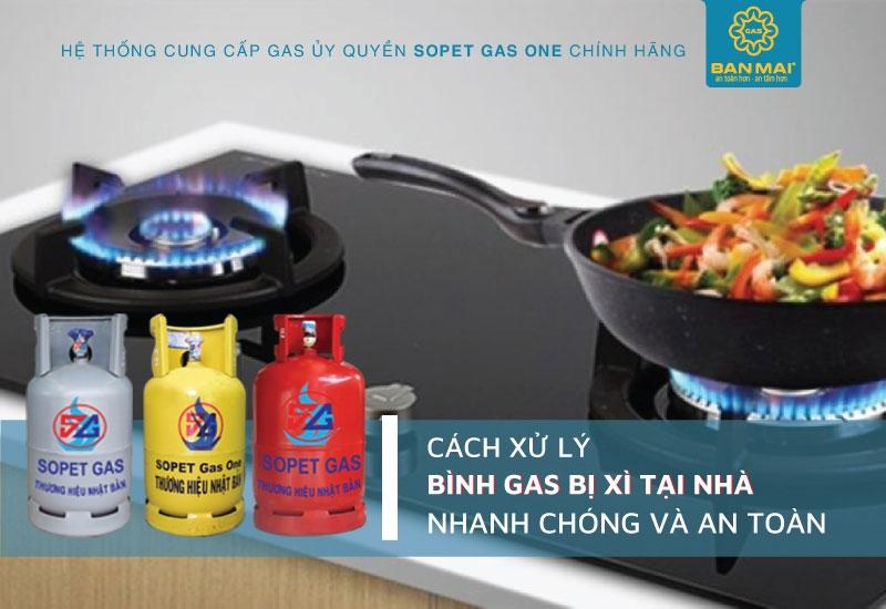 cách xử lý xì gas