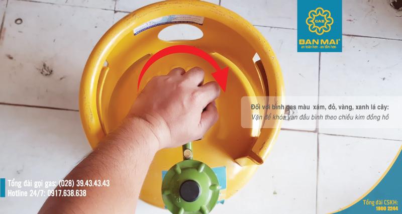 bình ga bị xì phải làm sao - cách xử lý khi có mùi gas - cách chữa bình ga bị xì