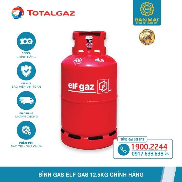 Báo giá bình Elf Gas giá bao nhiêu 12.5kg chính hãng