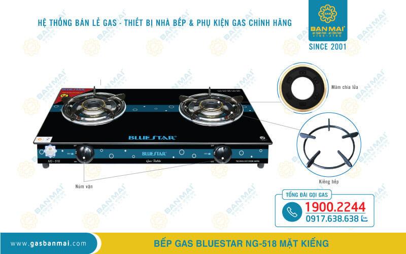 Bếp Bluestar NG-518
