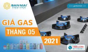 Giá gas tháng 5 2021