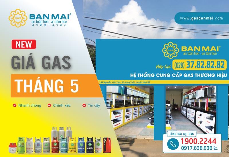 Giá gas tháng 5 năm 2021