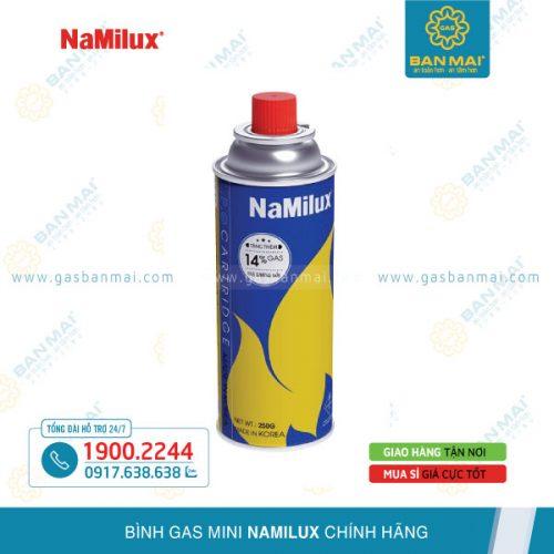 Bình ga mini NaMilux chính hãng