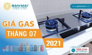 Giá gas tháng 7/2021