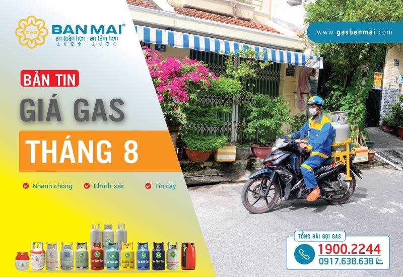 Giá gas tháng 8/2021