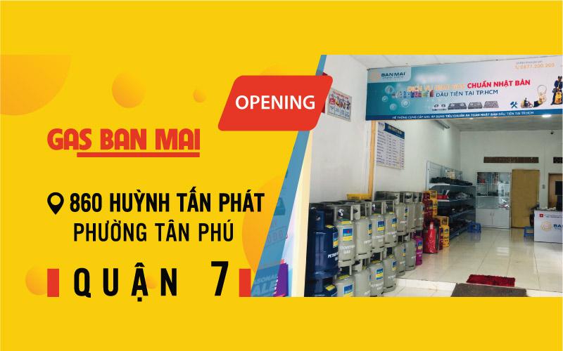 Cửa hàng Gas Ban Mai Huỳnh Tấn Phát Quận 7