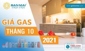 Giá gas tháng 10 2021